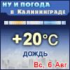 Ну и погода в Калининграде - Поминутный прогноз погоды